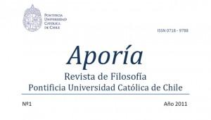 Revista de filosofía Aporía