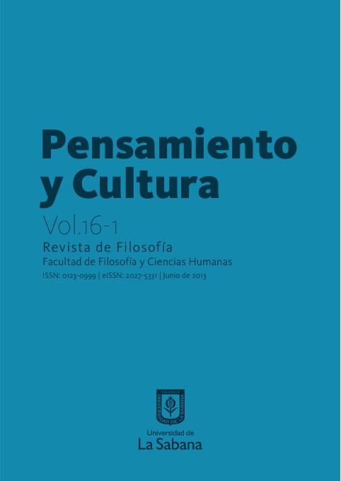 pensamiento y cultura revista de filosofía