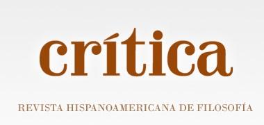 Critica revista de filosofía UNAM