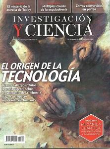 Portada Investigacion y Ciencia. Julio 2017