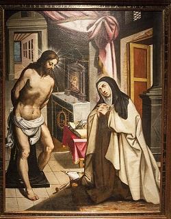 Aparicion de Cristo