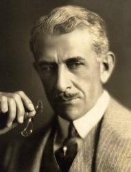 Georg Irving en el papel de Presidente de la Compañía de Petróleo (Infografía)