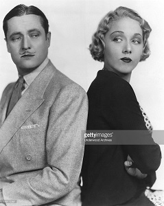 "Edmund Lowe and Leila Hyams in the comedy film, ""Part Time Wife"". Hollywood, California: 1930 (Photo by Underwood Archives/Getty Images)"