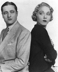 Edmund Lowe y Leila Hyams en una comedia de re - matrimonio (Infografía)