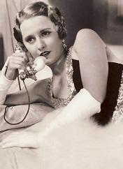 Barbara Stanwyck en el papel de Lulu (Infografía)