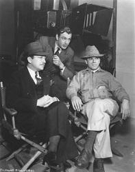 Capra y Cooper en el rodaje de Mr. Deeds... (Infografía)