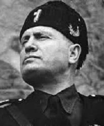 B. Mussolini (Infografía)