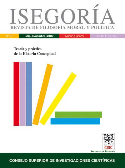 Revista de Filosofía ISEGORÍA