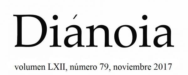 DIÁNOIA Revista de Filosofia