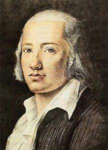 poeta lírico alemán que aúna la tradición clásica con el nuevo romanticismo