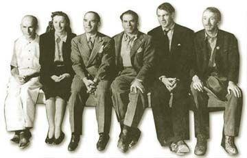 """<img src=""""Meet John Doe"""" alt=""""Capra, Stanwyick, Cooper y algunos actores de reparto de Meet John Doe"""">"""