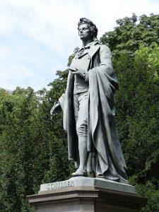 Monumento al autor de Cartas sobre la educación estética de la humanidad