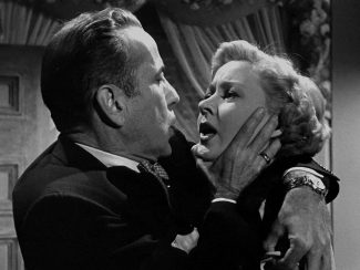 Bogart y Grahame una escena de In a Lonely Place (1950)