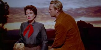 Crawford (Vienna) y Hayden (Johnny Guitar)
