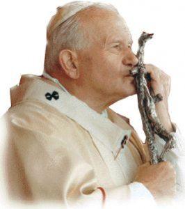"""<img src=""""karol"""" alt=""""Filósofo personalista del siglo XX convertido en el Papa Juan Pablo II en 1978 y hasta su muerte en 2005"""" />"""