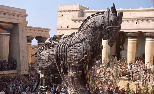 Imagen del caballo de Troya