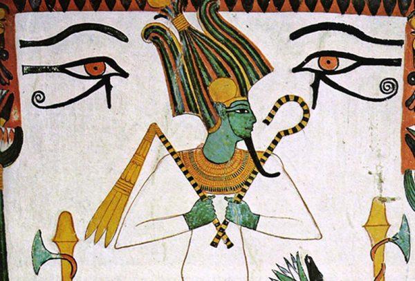 Pintura de Osiris