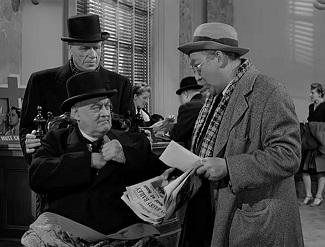 Tío Billy le entrega a Pottter sin darse cuenta los 8.000 dólares que ha de ingresar