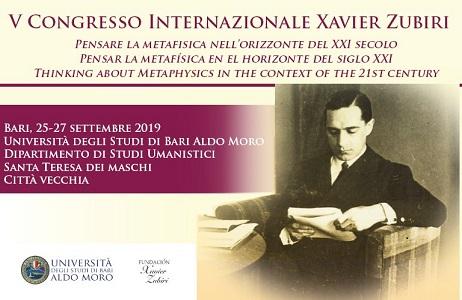 V Congreso Internacional de Zubiri