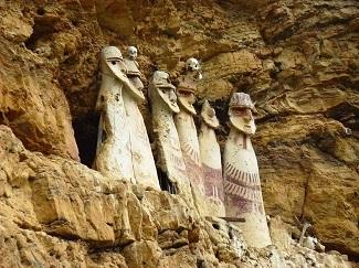 Sarcófagos de Karajía, en Perú