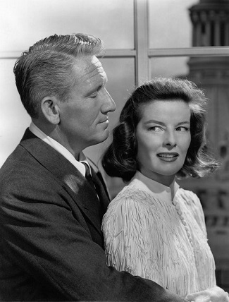 Spencer Tracy y Katherine Hepburn en State of the Union