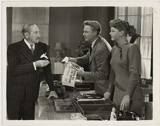Angela Lansbury, Van Johnson, and Adolphe Menjou in State of the Union (1948)
