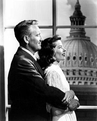 Grant y Mary, al fondo el Capitolio