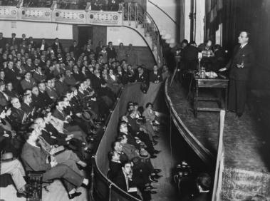 Conferencia de Ortega en 1914 sobre Vieja y Nueva Politica