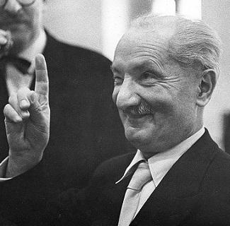 Martin Heidegger y el olvido del ser