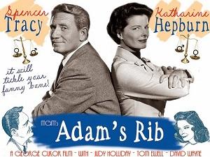Matrimonio y política: poster de Adam's Rib