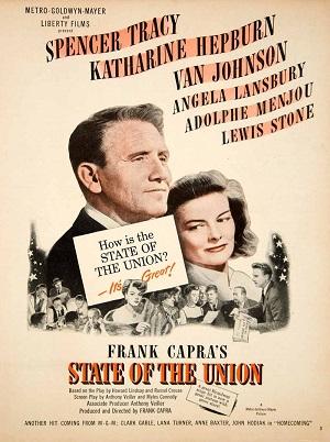 Matrimonio y política: poster de State of the Union