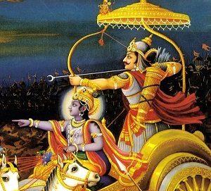 Uno de los héroes del el poema épico hindú Majabhárata