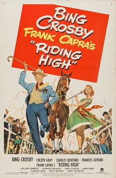 Cartel anunciador de Riding High