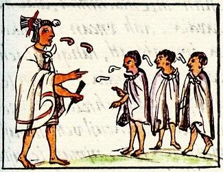 Mexicas y los huehuetlatoll