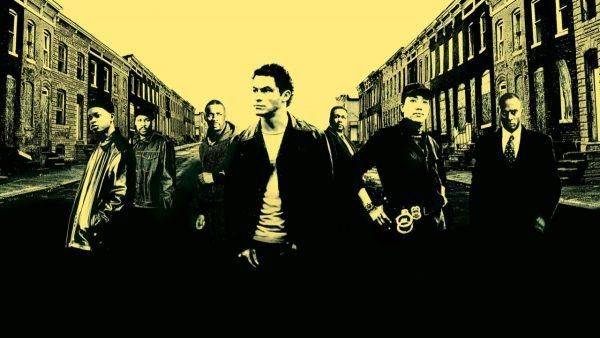"Imagen publicitara ""The Wire"", temporada 2."