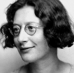 Simone Weil, autora de una abundante literatura ristiana y textosmísticos
