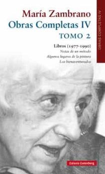 María Zambrano, Obras Completas
