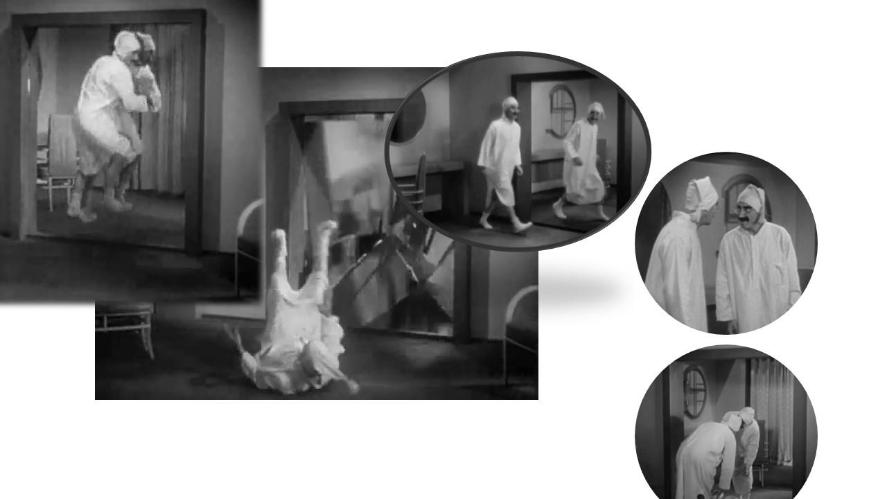 Imagen que contiene foto, espejo, interior, viendo Descripción generada automáticamente