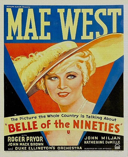 Mae West. Belle of Nineties