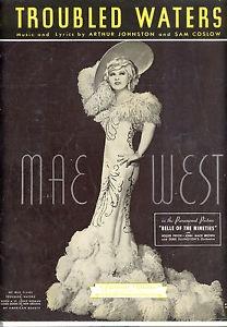 Leo McCarey y Mae West
