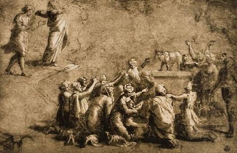 Moisés pide ser borrado del Libro de la vida