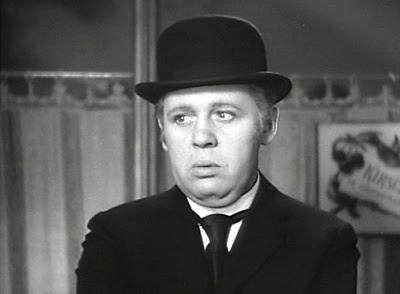 La mirada perdida de Charles Laughton como Ruggles en Ruggles of Red Gap