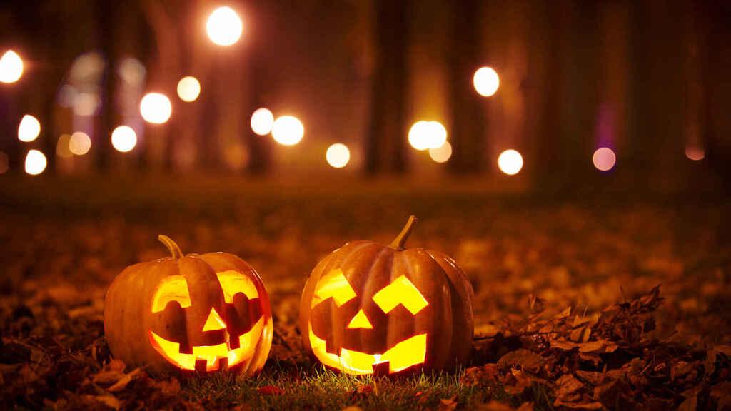 Calabazas Halloween. Almas y espíritus