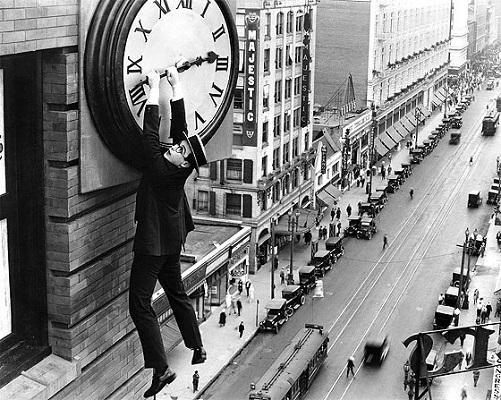 Harold Lloyd en Safety Last (El hombre mosca, 1923